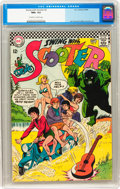 Silver Age (1956-1969):Humor, Swing with Scooter #2 (DC, 1966) CGC NM+ 9.6 Off-white to white pages....