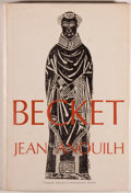 Books:Literature 1900-up, Jean Anouilh. Becket or The Honor of God. New York: Coward-McCann, Inc., 1960. First American edition. Octavo. 1...