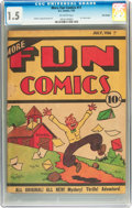 Platinum Age (1897-1937):Miscellaneous, More Fun Comics #11 Billy Wright pedigree (DC, 1936) CGC FR/GD 1.5Off-white pages....