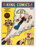 Platinum Age (1897-1937):Miscellaneous, King Comics #5 Billy Wright pedigree (David McKay Publications,1936) Condition: FR/GD....