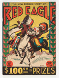 Golden Age (1938-1955):Western, Feature Books #16 Red Eagle - Billy Wright pedigree (David McKay Publications, 1938) Condition: FN....