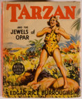 Books:Children's Books, [Big Little Book]. Edgar Rice Burroughs. Tarzan and the Jewelsof Opar. Racine: Whitman, [1940]. Square sixteenm...