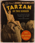 Books:Children's Books, [Big Little Book]. The Story of Johnny Weissmuller: The Tarzanof the Screen. Racine: Whitman, 1934. Square sixt...