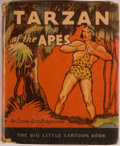 Books:Children's Books, [Big Little Book]. Edgar Rice Burroughs. Tarzan of the Apes.Racine: Whitman, [1933]. Square sixteenmo. 315 pages. P...