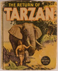 Books:Children's Books, [Big Little Book]. Edgar Rice Burroughs. The Return ofTarzan. Racine: Whitman, [1936]. Square sixteenmo. 424 pa...