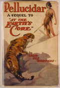 Books:Science Fiction & Fantasy, Edgar Rice Burroughs. Pellucidar. Chicago: McClurg, 1923.First edition, first printing. Octavo. 322 pages. Publishe...