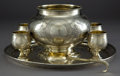 Silver Holloware, Continental:Holloware, A SERGEI AGAFANOZ SILVER AND SILVER GILT PUNCH SET . SergeiAgafanoz, Moscow, Russia, 1886-1887. Assay master Nikolai Nikola...(Total: 8 Items)