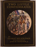 Books:Americana & American History, Thomas Nelson Page. Two Little Confederates. New York:Charles Scribner's Sons, 1937. Later edition. Large octavo. 1...