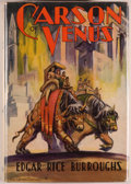 Books:Science Fiction & Fantasy, Edgar Rice Burroughs. Carson of Venus. Tarzana: Edgar RiceBurroughs, [1935]. First edition, first printing. Octavo....