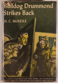 Books:Mystery & Detective Fiction, H. C. McNeile. Bulldog Drummond Strikes Back. New York:Triangle Books, [1944]. Reprint edition. Octavo. 310 pages. ...