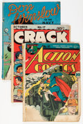 Golden Age (1938-1955):Miscellaneous, Miscellaneous Golden Age Comics Group (Various Publishers, 1940s-50s).... (Total: 9 Items)