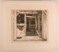 Books:Prints & Leaves, George Marples. SIGNED. Etching of Cat and Mill. [n. p., ca. 1920].Signed by Marples along lower margin. Matted area me...