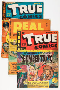 Miscellaneous Golden Age War Related Comics Group (Various Publishers, 1940s).... (Total: 15 Comic Books)
