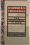 Books:Fine Press & Book Arts, William Everson. The Engendering Flood. Santa Rosa: BlackSparrow Press, 1990. First edition, number 35 of 50 ...