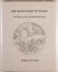 Books:Literature 1900-up, William Everson. The Mate-Flight of Eagles. Two Poems on the Love-Death of the Cross. [Newcastle, California]: D...