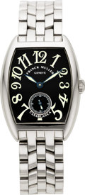 Timepieces:Wristwatch, Franck Muller Casablanca 7502 S6 Gent's Steel Limited Edition Wristwatch. ...