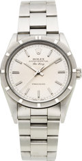 Timepieces:Wristwatch, Rolex Ref. 14010 Gent's Steel Oyster Perpetual Air King, circa 1991. ...