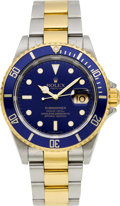 Timepieces:Wristwatch, Rolex Ref. 16613 Two Tone Submariner, circa 2005. ...