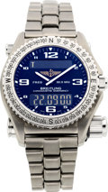 Timepieces:Wristwatch, Breitling Ref. E76321 Titanium Emergency Chonometre. ...