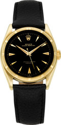 Timepieces:Wristwatch, Rolex Ref. 6085 Gold Oyster Perpetual, circa 1955. ...