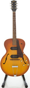 Musical Instruments:Electric Guitars, 1966 Gibson ES-125TD Sunburst Semi-Hollow Body Electric Guitar, #380781....