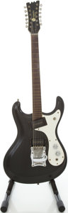 Musical Instruments:Electric Guitars, Early 1970's Mosrite 12-String Refinished Solid Body ElectricGuitar, #T376....