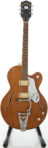 Musical Instruments:Electric Guitars, 1967 Gretsch Tennessean Walnut Semi-Hollow Body Electric Guitar,#67785....