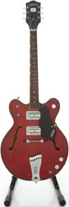 Musical Instruments:Electric Guitars, 1968 Gretsch Streamliner Cherry Semi-Hollow Body Electric Guitar,#108343....