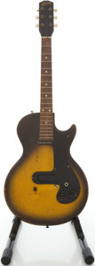 Musical Instruments:Electric Guitars, 1959 Gibson Melody Maker 3/4 Sunburst Solid Body Electric Guitar, #923052....