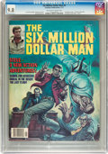 Bronze Age (1970-1979):Adventure, The Six Million Dollar Man #4 (Charlton, 1977) CGC NM/MT 9.8 Off-white to white pages....