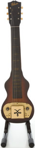 Musical Instruments:Lap Steel Guitars, Circa 1946 Gibson BR-6 Mahogany Lap Steel Guitar, #21G3929....