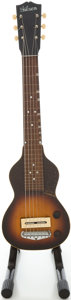 Musical Instruments:Lap Steel Guitars, Circa late 1930's Gibson EH-100 Sunburst Lap Steel Guitar, #DGE-2493....