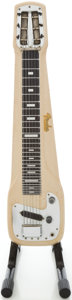 Musical Instruments:Lap Steel Guitars, 1957 Fender Studio Tan Lap Steel Guitar, #-01074....