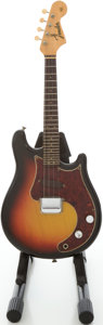 Musical Instruments:Electric Guitars, Circa 1964 Fender Mandocaster Sunburst Electric Mandolin,#01338....