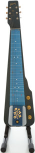 Musical Instruments:Lap Steel Guitars, 1955 Gibson Ultratone Blue Lap Steel Guitar, #5 6287....