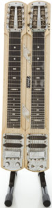 Musical Instruments:Lap Steel Guitars, 1950's Fender Double 8 Professional Tan Lap Steel Guitar,#00833....