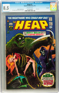Bronze Age (1970-1979):Horror, The Heap #1 Savannah pedigree (Skywald, 1971) CGC VF+ 8.5 Off-whitepages....
