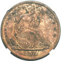 Patterns, 1861 P50C Half Dollar, Judd-278, Pollock-329, Low R.7, PR64 Red and Brown NGC....