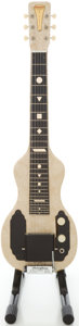 Musical Instruments:Lap Steel Guitars, Circa 1950's Tonemaster English Electronics MOTS Lap Steel Guitar with Legs....