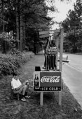 Photographs:20th Century, ALFRED EISENSTAEDT (American, 1898-1995). Little Boy SellingCoca-Cola, Atlanta, 1936. Gelatin silver, 1991. 17-1/2 x 12...