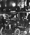 Photographs:20th Century, BILL BRANDT (British, 1904-1983). SP01- Taxi, Lower RegentStreet, London, 1935. Gelatin silver, printed later. 38 x 24...