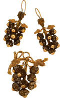 Estate Jewelry:Suites, Victorian Woven Hair, Gold Jewelry Suite. ...