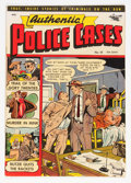 Golden Age (1938-1955):Crime, Authentic Police Cases #18 (St. John, 1952) Condition: FN-....