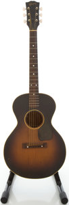 Musical Instruments:Acoustic Guitars, Circa 1950 Gibson LG-1 3/4 Sunburst Acoustic Guitar, #5220 15....