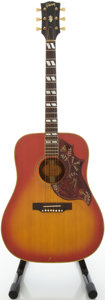 Musical Instruments:Acoustic Guitars, Circa 1968 Gibson Hummingbird Cherry Sunburst Acoustic Guitar,#507717....