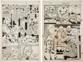 Original Comic Art:Panel Pages, Bill Jaaska and Josef Rubinstein X-Men #263 Page 30 and 31Original Art (Marvel, 1990).... (Total: 2 Original Art)