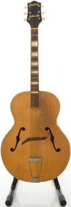 Musical Instruments:Acoustic Guitars, 1951 Gretsch Synchromatic Natural Archtop Acoustic Guitar,#4440....