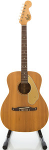 Musical Instruments:Acoustic Guitars, Circa 1966 Fender Malibu Natural Acoustic Guitar, #17977....