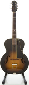 Musical Instruments:Acoustic Guitars, Circa 1940's Harmony Armstrong Sunburst Archtop Acoustic Guitar....