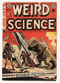 Golden Age (1938-1955):Science Fiction, Weird Science #15 Canadian Edition (EC, 1952) Condition: VG/FN....